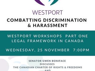 Combatting Discrimination & Harassment Workshops