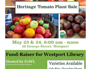 Tomato Plant Sale - Fund-Raiser for the Westport Library