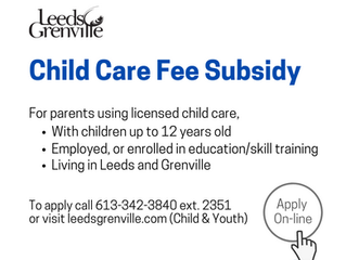 Child Care Fee Subsidy