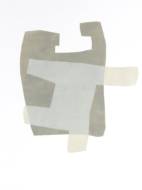 060. Sans titre 7, 2015,acrylique sur papier, 65 x 50 cm
