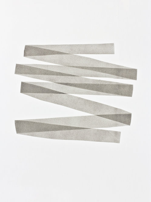 040. Sans titre 32, 2017, acrylique sur papier, 65 x 50 cm