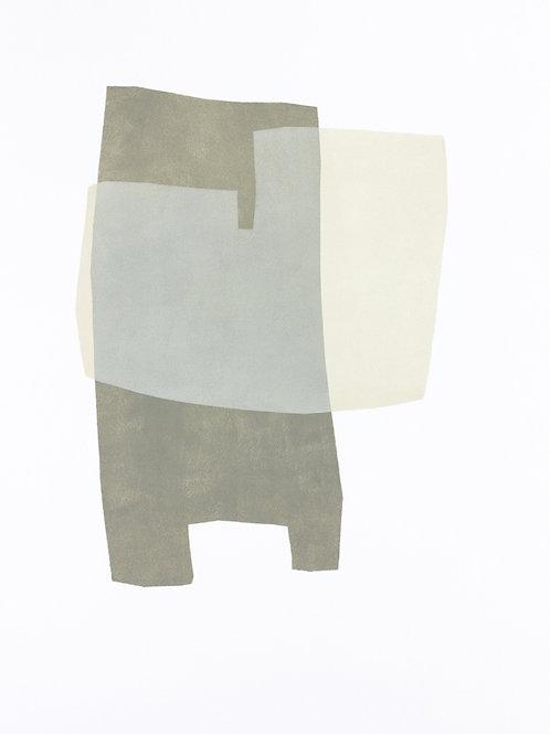 059. Sans titre 8, 2015, acrylique sur papier, 65 x 50 cm
