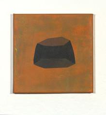 Izabela Kowalczyk, Sans titre 1, acrylique sur toile, 2020, 20 x 20 cm