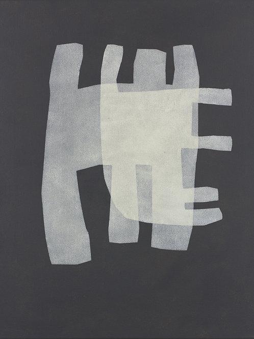 073. Sans titre 73, 2015, acrylique sur toile, 65 x 50 cm