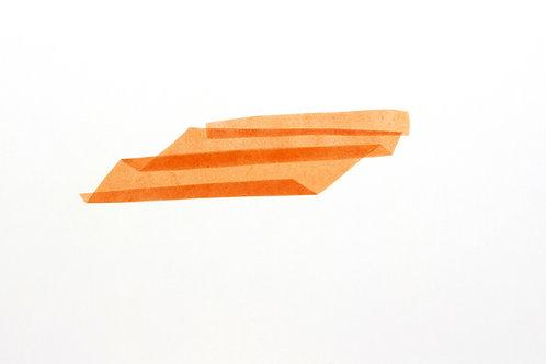 Sans titre 65, 2019, acrylique sur papier, 46 x 78 cm