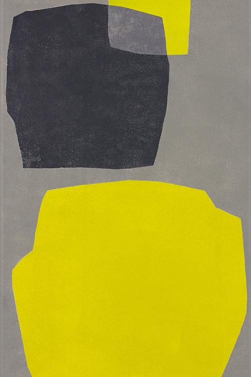 083. Sans titre 46, 2012, acrylique sur toile, 60 x 30 cm