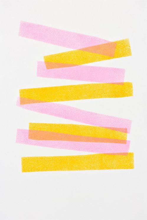 033. Sans titre 37, 2017, acrylique sur papier, 30 x 20 cm