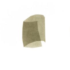 Izabela Kowalczyk, Sans titre 3, acrylique sur papier, 2020, 25 x 25 cm