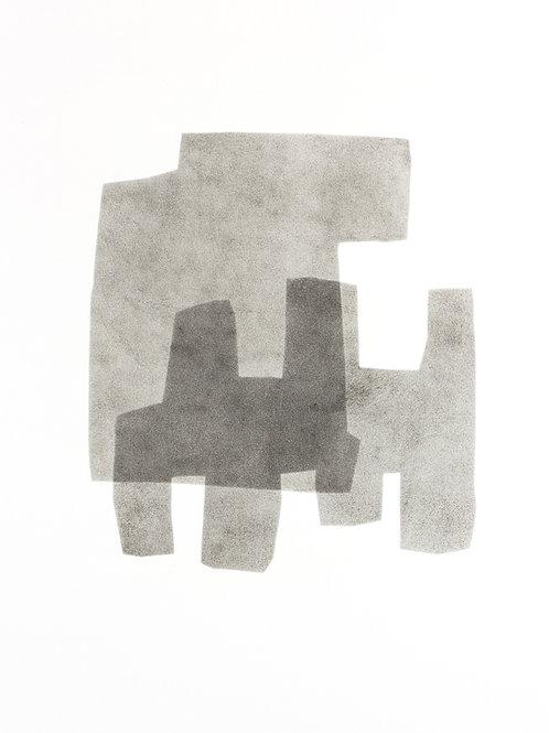 057. Sans titre 13, 2015, acrylique sur toile, 65 x 50 cm