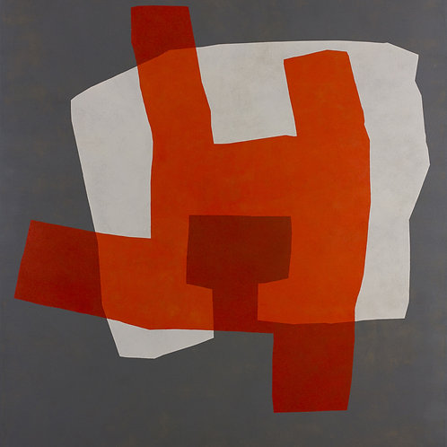 079. Sans titre 67, 2015, acrylique sur toile, 140 x 130 cm