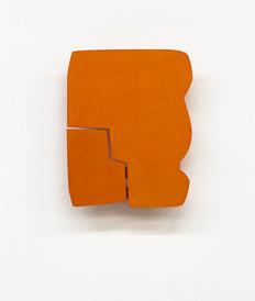 Izabela Kowalczyk, Relief 14, 2014, bois, charnières, peinture acrylique, 34 x 27 x 3 cm, coll.particulière