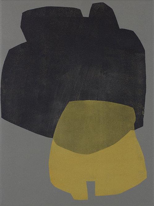 084. Sans titre 45, 2012, acrylique sur toile, 40 x 30 cm