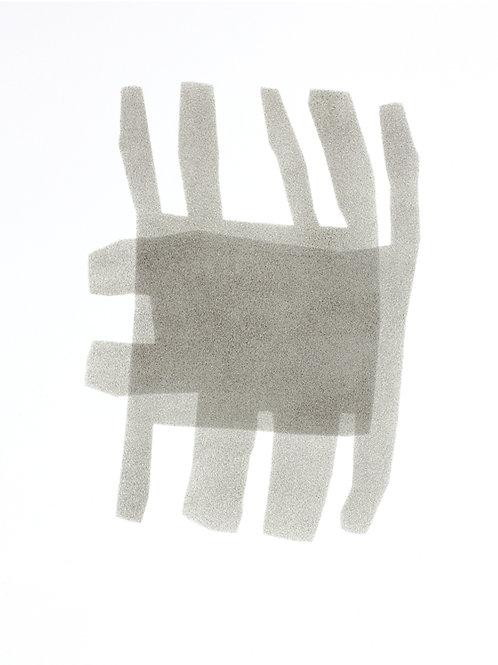 048. Sans titre 24, 2016, acrylique sur papier, 40 x 30 cm