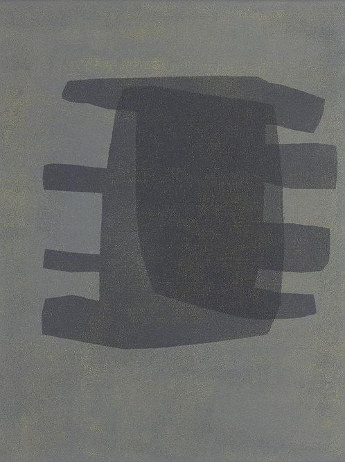 072. Sans titre 75, 2016, acrylique sur toile, 40 x 30 cm