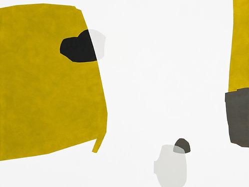 093. Sans titre 25, 2010, acrylique sur toile, 160 x 130 cm