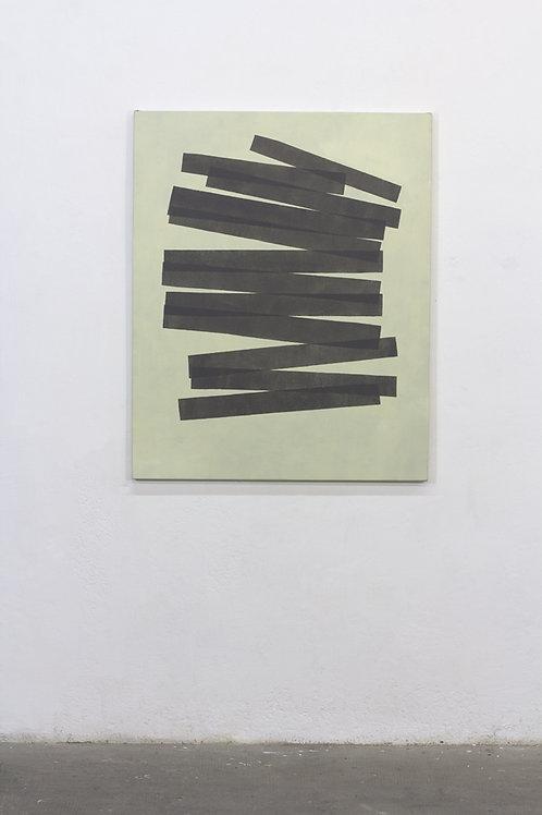 064. Sans titre 85, 2017, acrylique sur toile, 100 x 81 cm