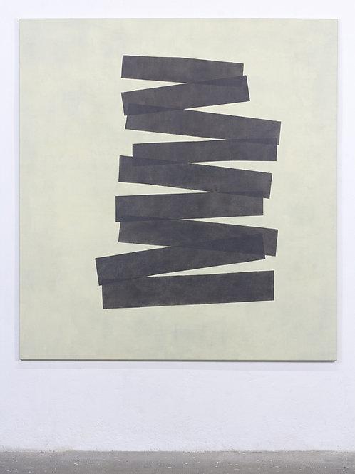 067. Sans titre 81, 2017, acrylique sur toile, 150 x 140 cm
