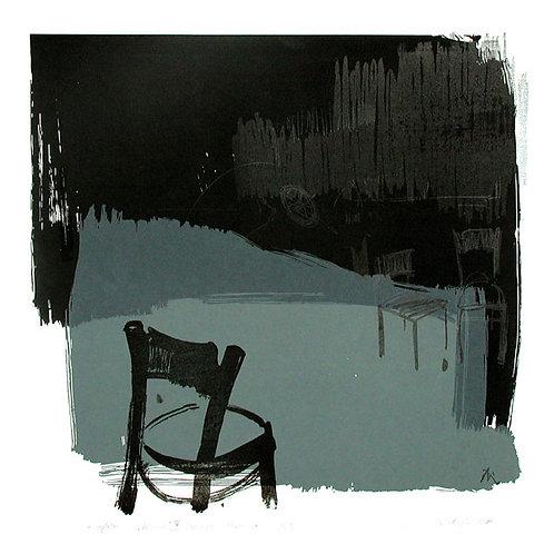 119. Dialogue 05, 2000, lithographie/linogravure, 38 x 36 cm
