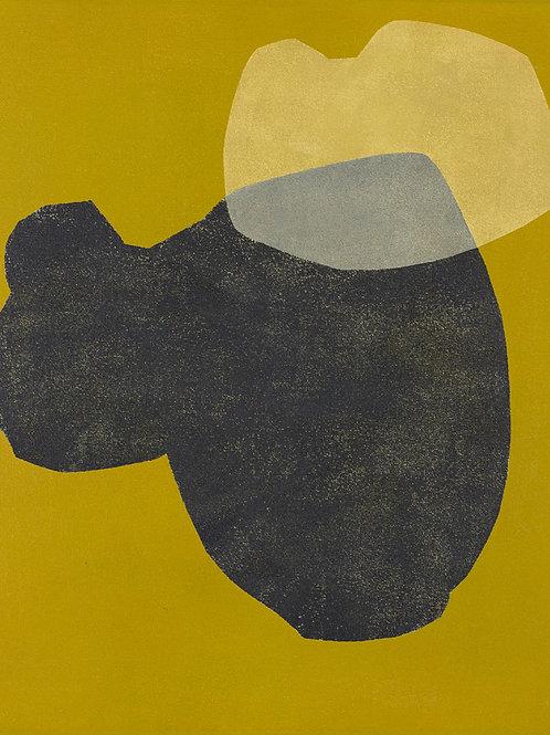 085. Sans titre 42, 2012, acrylique sur toile, 41 x 33,5 cm