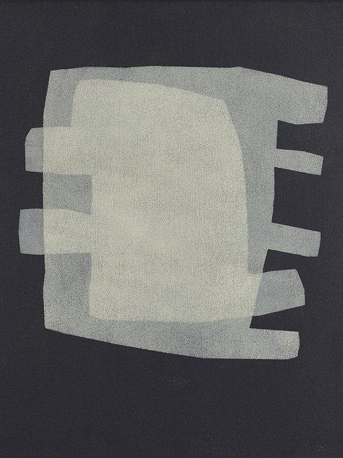 069. Sans titre 79, 2016, acrylique sur toile, 40 x 30 cm