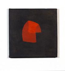 Izabela Kowalczyk, Sans titre 5, acrylique sur toile, 2020, 20 x 20 cm, collection particulière
