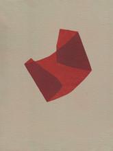Izabela Kowalczyk, Sans titre 8, acrylique sur toile, 2020, 24 x 18 cm