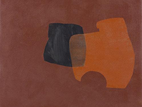 082. Sans titre 47, 2012, acrylique sur toile, 50 x 60 cm