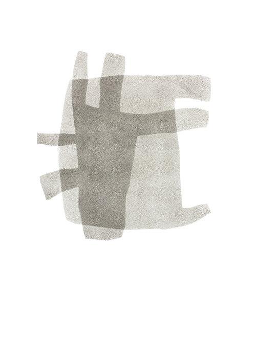 056. Sans titre 16, 2015, acrylique sur papier, 65 x 50 cm