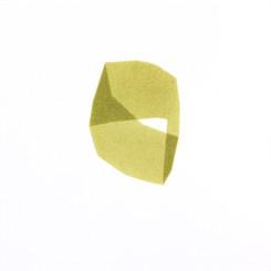 Izabela Kowalczyk, Sans titre 2, acrylique sur papier, 2020, 25 x 25 cm