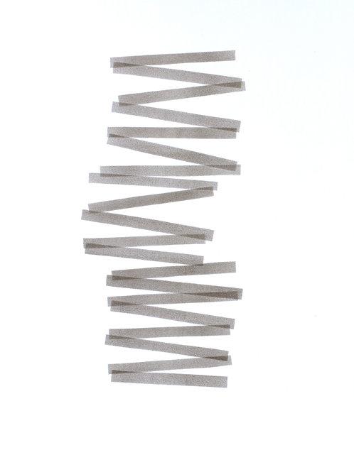 016. Sans titre 49, 2018, acrylique sur papier, 70 x 50 cm
