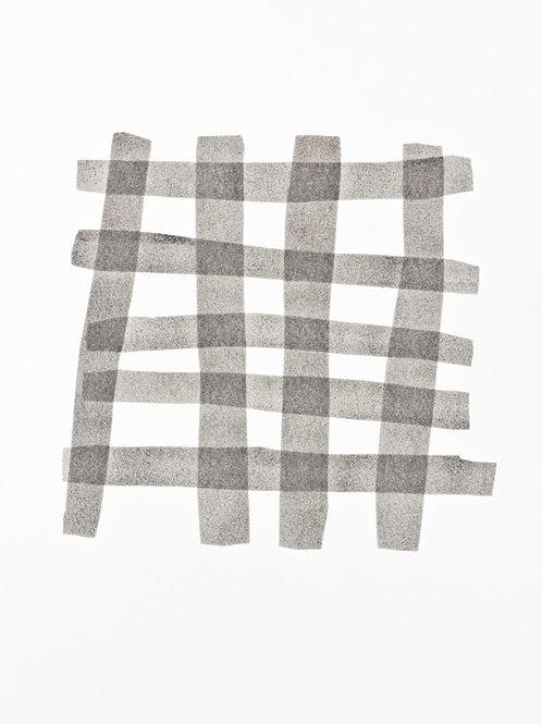 041. Sans titre 31, 2017, acrylique sur papier, 65 x 50 cm