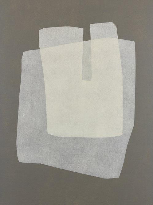 078. Sans titre 68, 2015, acrylique sur toile, 65 x 50 cm