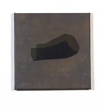 Izabela Kowalczyk, Sans titre 4, acrylique sur toile, 2020, 20 x 20 cm