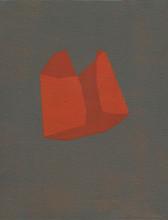 Izabela Kowalczyk, Sans titre 7, acrylique sur toile, 2020, 24 x 18 cm, collection particulière