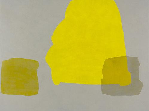 087. Sans titre 43, 2012, acrylique sur toile, 130 x 160 cm
