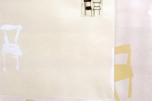 116. Dialogue 07, 2002, linogravure/eau forte,70 x 100 cm