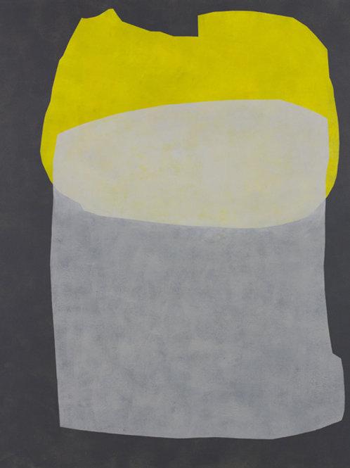 081. Sans titre 52, 2012, acrylique sur toile, 100 x 81 cm