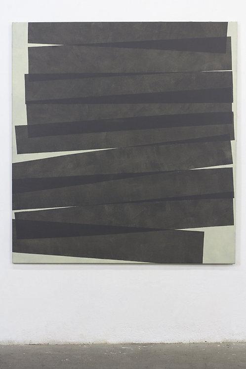 065. Sans titre 84, 2017, acrylique sur toile, 140 x 130 cm