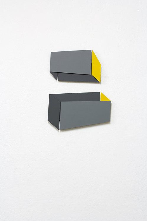 Relief 22, 2019, mdf, peinture acrylique, 50 x 40 x 1,5 cm