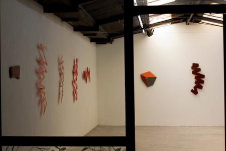 Izabela Kowalczyk, Vue d'atelier, Juin 2020