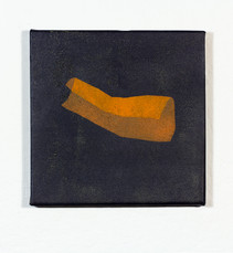 Izabela Kowalczyk, Sans titre 3, acrylique sur toile, 2020, 20 x 20 cm
