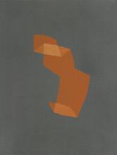 Izabela Kowalczyk, Sans titre 6, acrylique sur toile, 2020, 24 x 18 cm