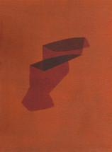 Izabela Kowalczyk, Sans titre 10, acrylique sur toile, 2020, 24 x 18 cm