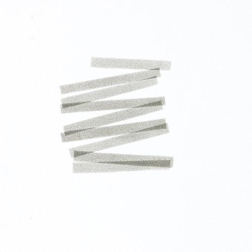 003. Sans titre 2, 2017, acrylique sur papier, 25 x 25 cm