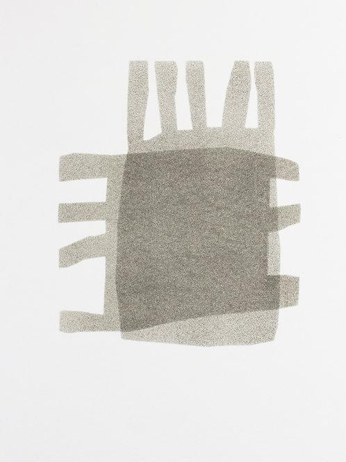 043. Sans titre 29 bis, 2016, acrylique sur papier, 40 x 30 cm