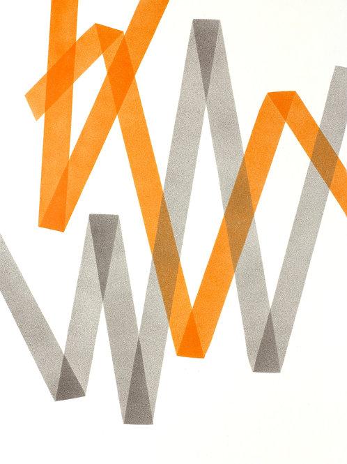 008. Sans titre 59, 2018, acrylique sur papier, 70 x 100 cm