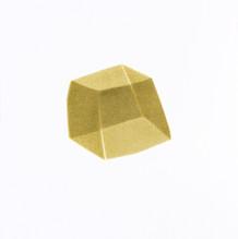 Izabela Kowalczyk, Sans titre 6, acrylique sur papier, 2020, 25 x 25 cm