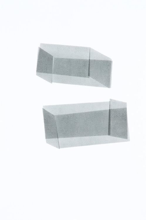 001. Sans titre 63, 2018, acrylique sur papier, 70 x 50 cm