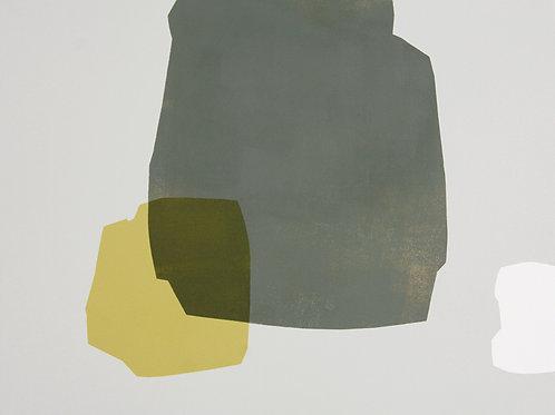 092. Sans titre 30, 2011, acrylique sur toile, 50 x 60 cm