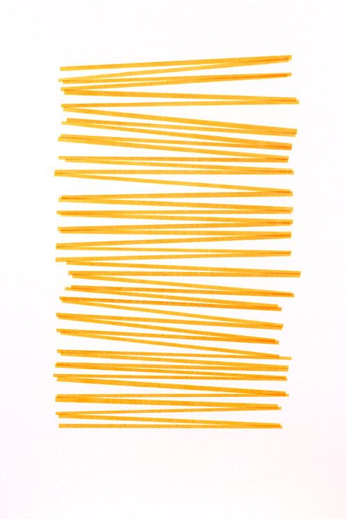 025. Sans titre 43 bis, 2017, acrylique sur papier, 100 x 70 cm